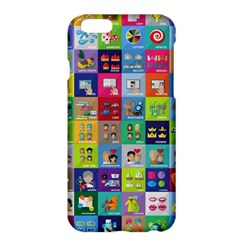 Exquisite Icons Collection Vector Apple Iphone 6 Plus/6s Plus Hardshell Case