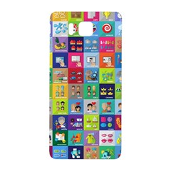 Exquisite Icons Collection Vector Samsung Galaxy Alpha Hardshell Back Case