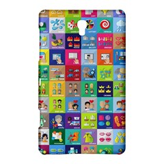 Exquisite Icons Collection Vector Samsung Galaxy Tab S (8 4 ) Hardshell Case