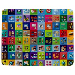 Exquisite Icons Collection Vector Jigsaw Puzzle Photo Stand (rectangular)