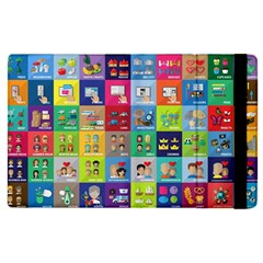 Exquisite Icons Collection Vector Apple Ipad Pro 12 9   Flip Case