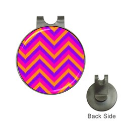 Chevron Hat Clips With Golf Markers