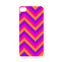 Chevron Apple Iphone 4 Case (white)