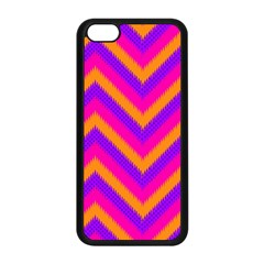 Chevron Apple Iphone 5c Seamless Case (black)