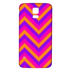 Chevron Samsung Galaxy S5 Back Case (white)