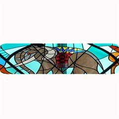 Elephant Stained Glass Large Bar Mats