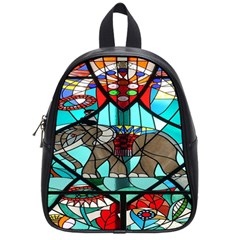 Elephant Stained Glass School Bags (small)