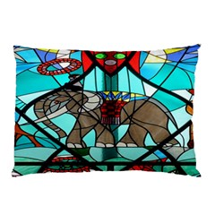 Elephant Stained Glass Pillow Case (two Sides)
