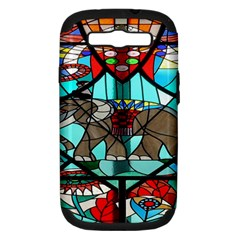 Elephant Stained Glass Samsung Galaxy S Iii Hardshell Case (pc+silicone)