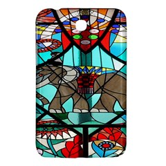 Elephant Stained Glass Samsung Galaxy Tab 3 (7 ) P3200 Hardshell Case