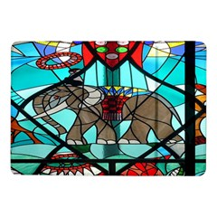 Elephant Stained Glass Samsung Galaxy Tab Pro 10 1  Flip Case