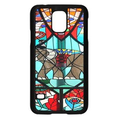 Elephant Stained Glass Samsung Galaxy S5 Case (black)