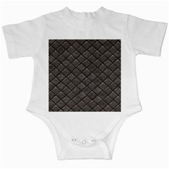 Seamless Leather Texture Pattern Infant Creepers