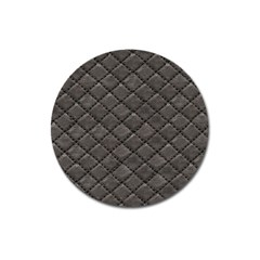 Seamless Leather Texture Pattern Magnet 3  (round)
