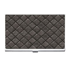 Seamless Leather Texture Pattern Business Card Holders