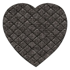 Seamless Leather Texture Pattern Jigsaw Puzzle (heart)