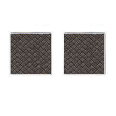 Seamless Leather Texture Pattern Cufflinks (square)