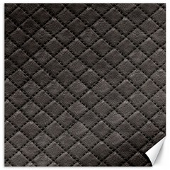 Seamless Leather Texture Pattern Canvas 16  X 16