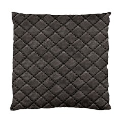 Seamless Leather Texture Pattern Standard Cushion Case (two Sides)