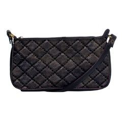 Seamless Leather Texture Pattern Shoulder Clutch Bags