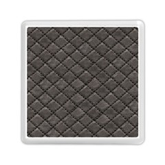 Seamless Leather Texture Pattern Memory Card Reader (square)