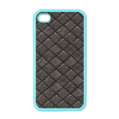 Seamless Leather Texture Pattern Apple Iphone 4 Case (color)