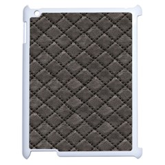 Seamless Leather Texture Pattern Apple Ipad 2 Case (white)