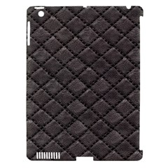 Seamless Leather Texture Pattern Apple Ipad 3/4 Hardshell Case (compatible With Smart Cover)