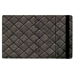 Seamless Leather Texture Pattern Apple Ipad 3/4 Flip Case