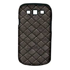 Seamless Leather Texture Pattern Samsung Galaxy S Iii Classic Hardshell Case (pc+silicone)