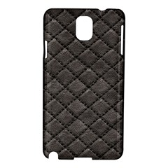 Seamless Leather Texture Pattern Samsung Galaxy Note 3 N9005 Hardshell Case