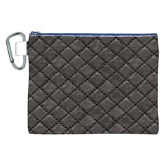 Seamless Leather Texture Pattern Canvas Cosmetic Bag (xxl)