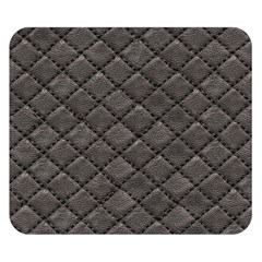 Seamless Leather Texture Pattern Double Sided Flano Blanket (small)