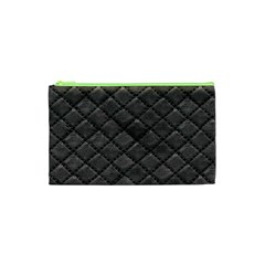 Seamless Leather Texture Pattern Cosmetic Bag (xs)