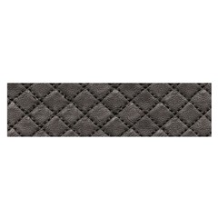 Seamless Leather Texture Pattern Satin Scarf (oblong)