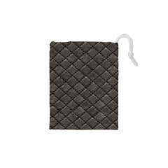 Seamless Leather Texture Pattern Drawstring Pouches (xs)