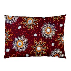 India Traditional Fabric Pillow Case (two Sides)