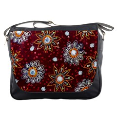 India Traditional Fabric Messenger Bags