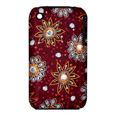 India Traditional Fabric Iphone 3s/3gs