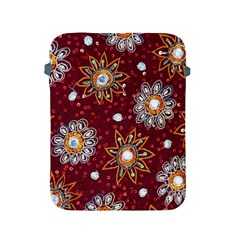 India Traditional Fabric Apple Ipad 2/3/4 Protective Soft Cases