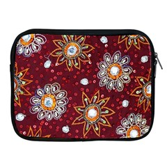 India Traditional Fabric Apple Ipad 2/3/4 Zipper Cases