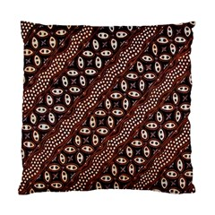 Art Traditional Batik Pattern Standard Cushion Case (two Sides)