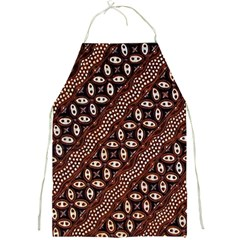 Art Traditional Batik Pattern Full Print Aprons