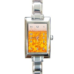 Beer Alcohol Drink Drinks Rectangle Italian Charm Watch