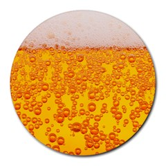 Beer Alcohol Drink Drinks Round Mousepads