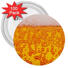 Beer Alcohol Drink Drinks 3  Buttons (100 Pack)