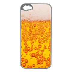 Beer Alcohol Drink Drinks Apple Iphone 5 Case (silver)