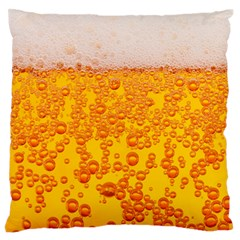 Beer Alcohol Drink Drinks Large Flano Cushion Case (one Side)