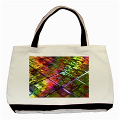 Technology Circuit Computer Basic Tote Bag (two Sides)