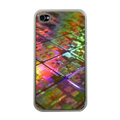 Technology Circuit Computer Apple Iphone 4 Case (clear)